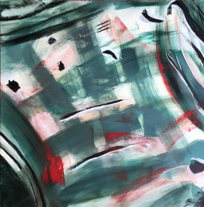 Abstract art Amor Fati