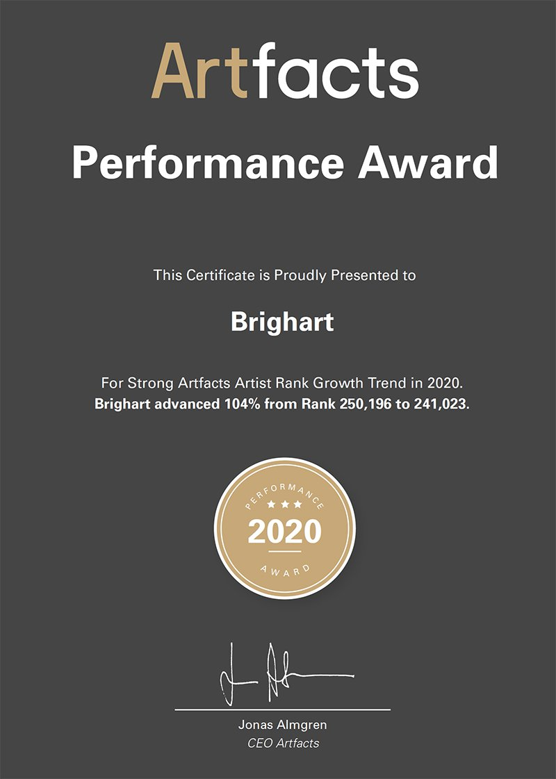 Artfacts Performance Award