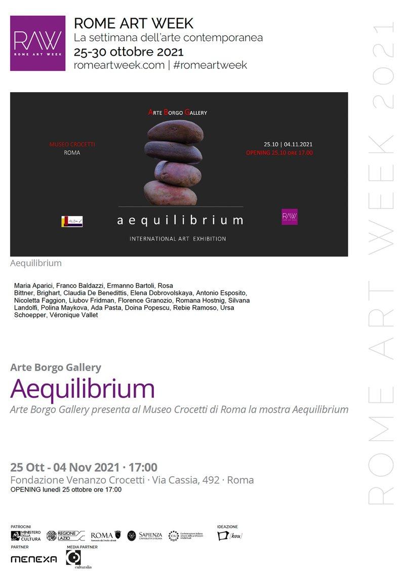 Aeqilibrium Rome Art Week Brighart