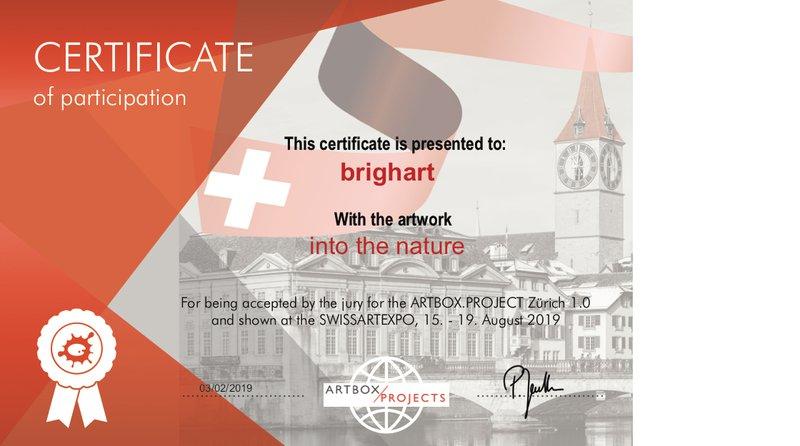 swissartexpo certificate