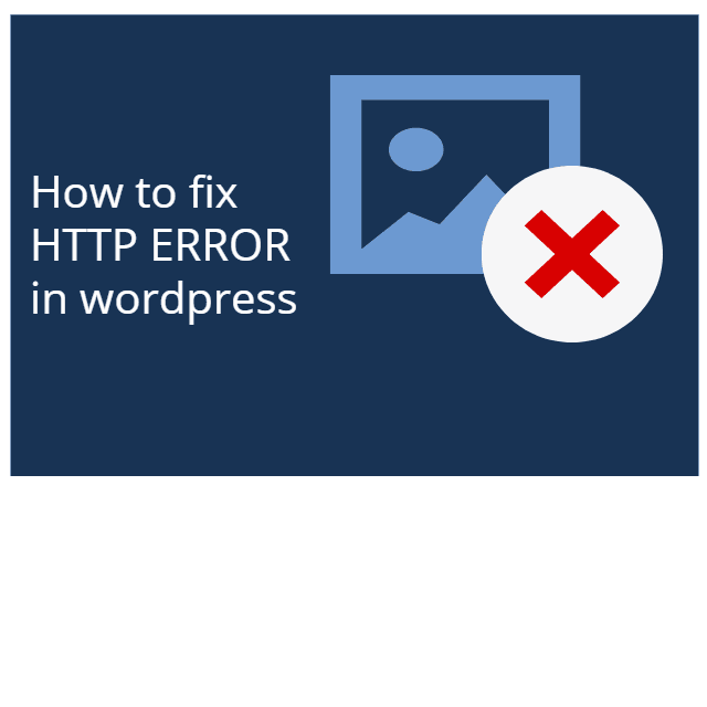 Fix HTTP Error