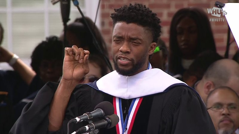 Regret and Purpose: Chadwick Boseman's Howard University 2018 Commencement Speech
