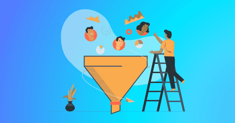 Acquiring customers - filling the funnel
