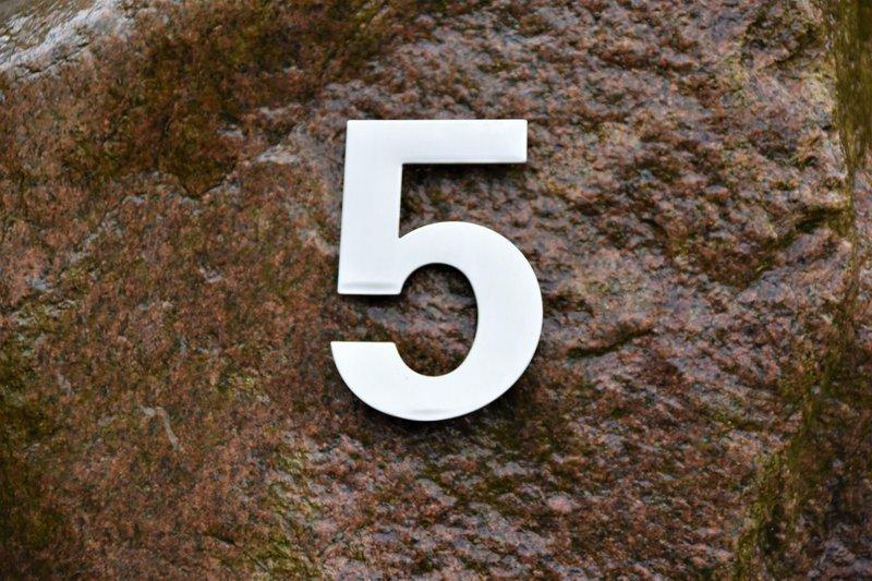 Metal Number 5