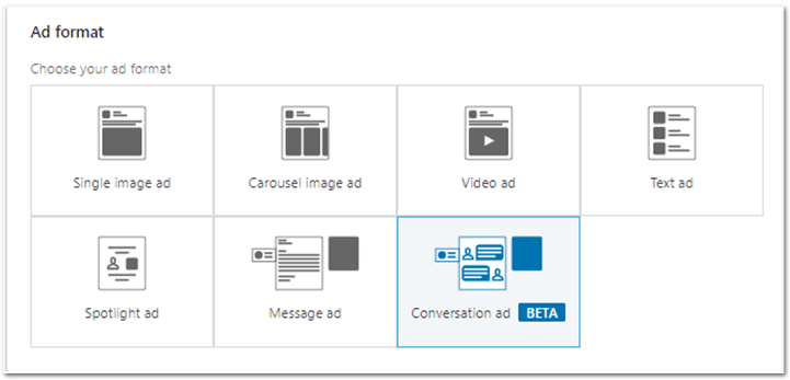 configurar tu campaña de linkedin
