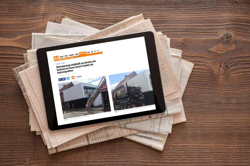 Publicatie in print of digitale platformen
