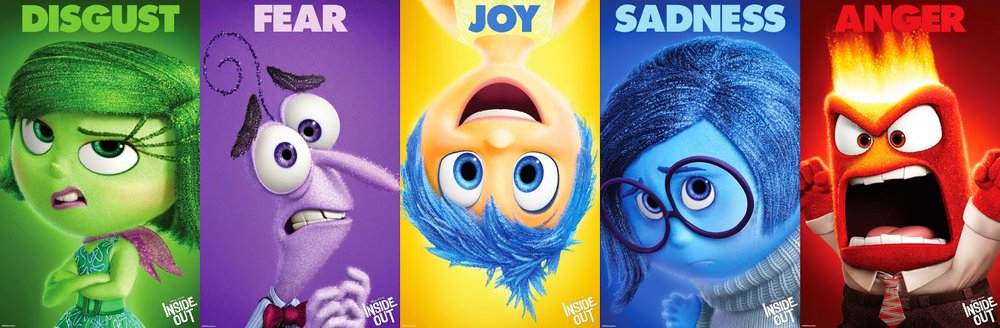 How Pixar matches colours with emotions for the movie Inside Out