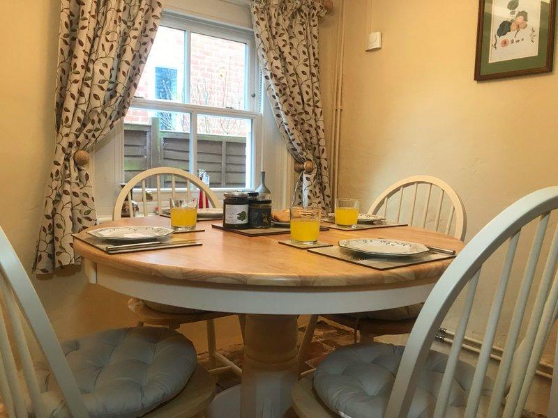 Cherry Tree Cottage Dining Room
