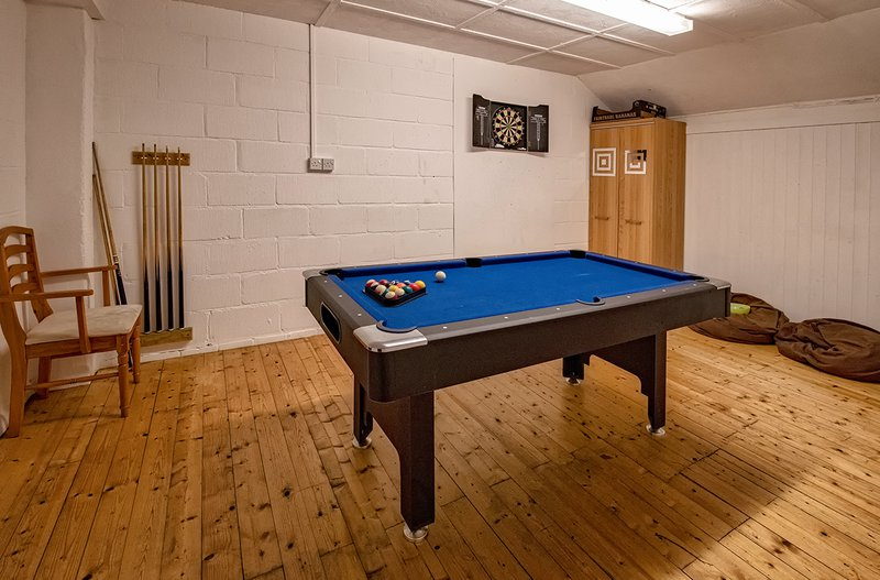 Norfolk Holiday Cottage Games Room