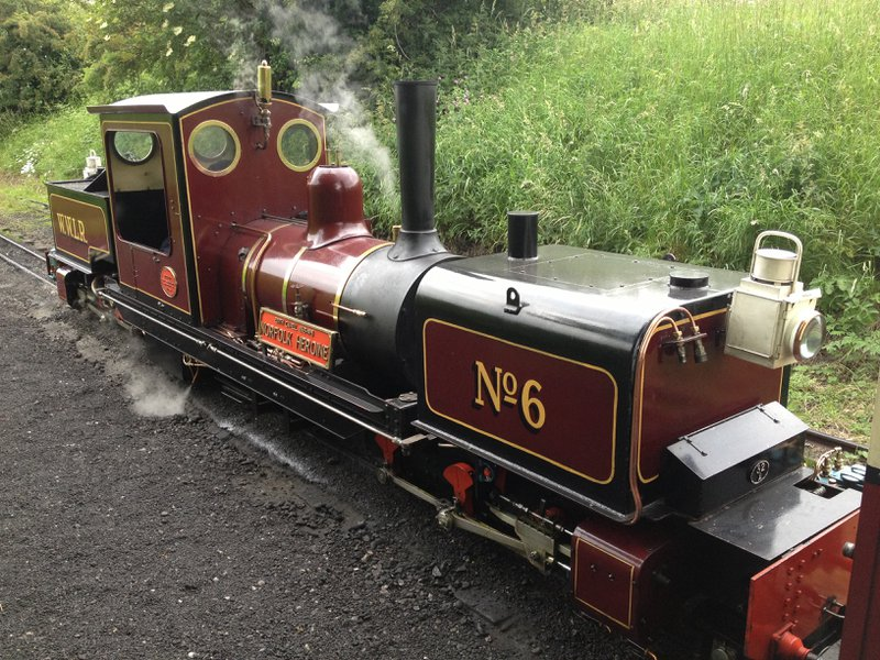 things to do in Norfolk - Walsingham Light Railway