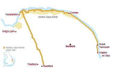Norfolk Coast Path & Peddars Way