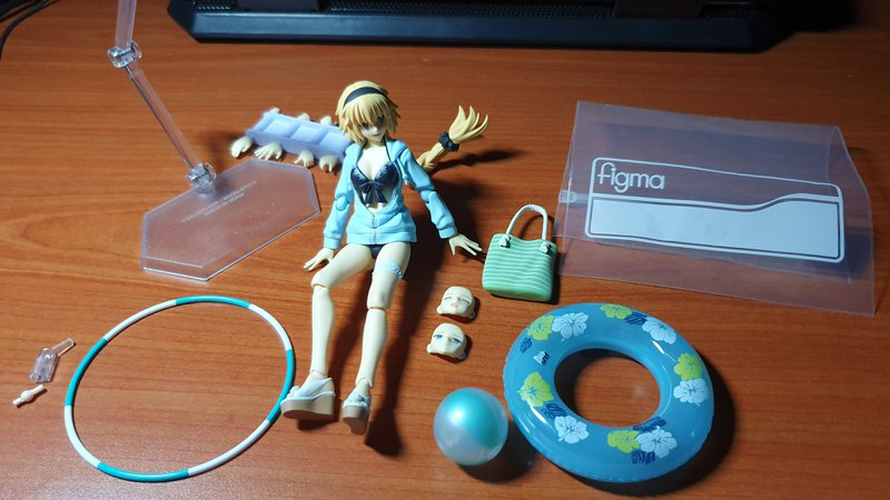 The new Archer Jeanne d'Arc Figma and all accessories