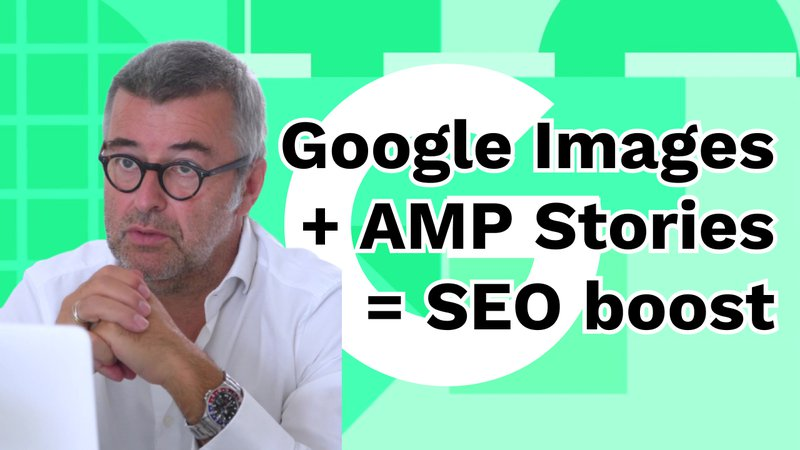 Google Images + AMP Stories