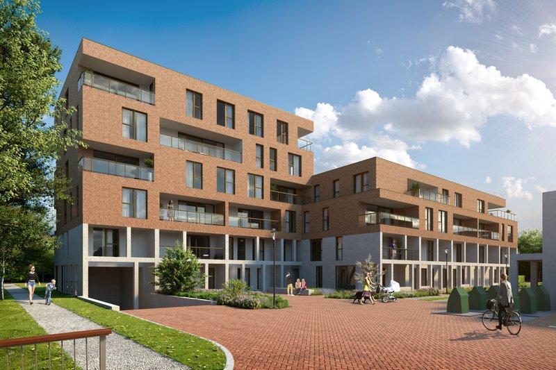 Appartementen in Hof van Gent