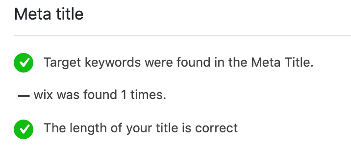 meta titel met zoekwoorden
