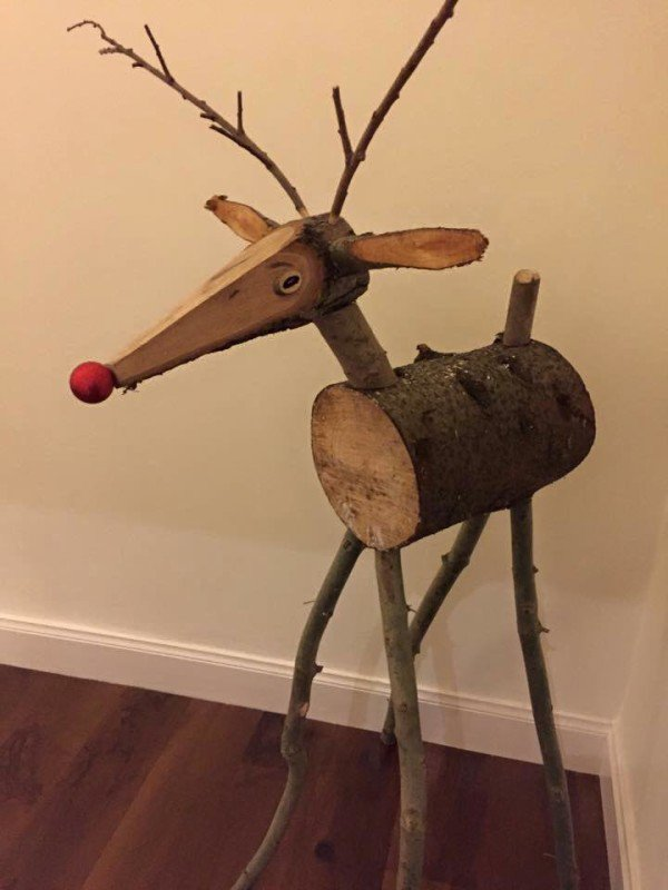 Carolside PTA Christmas fair -  Guess the Name of the Reindeer competition