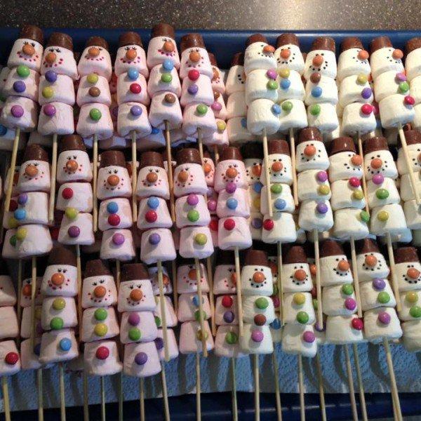 FOSPA Chippenham Christmas Fair marshmallow snowmen