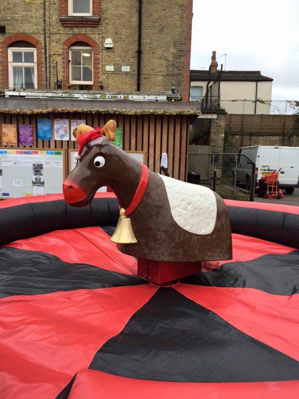 Friends of Goodrich - Christmas fair reindeer rodeo