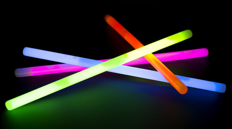 #ptahour roundup blog from PTAsocial  - glowsticks