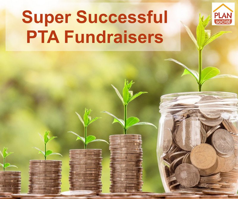 Super Successful PTA Fundraisers - money growing steadily