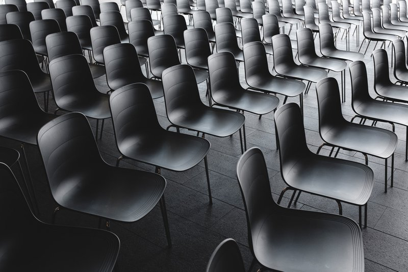 Empty seats - cancelled PTA events due to coronavirus
