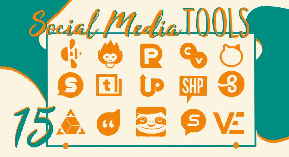 Social media tools header