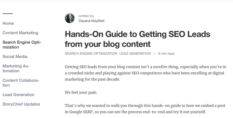 How to write blog post and get SEO Leads