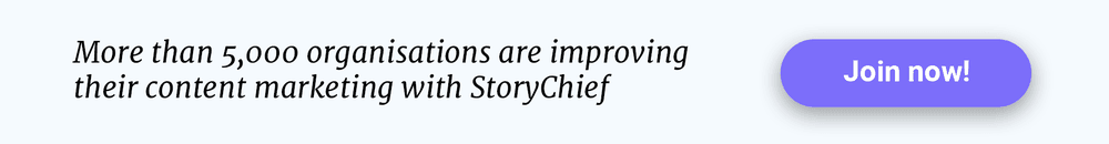 StoryChief CTA
