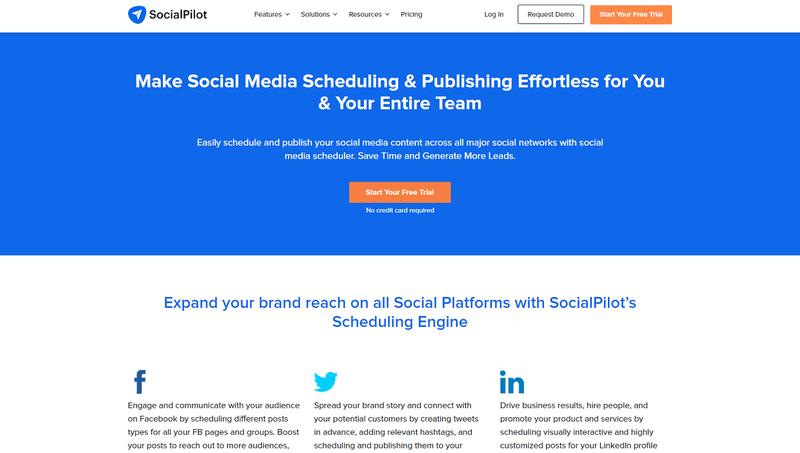Social media tools: Socialpilot