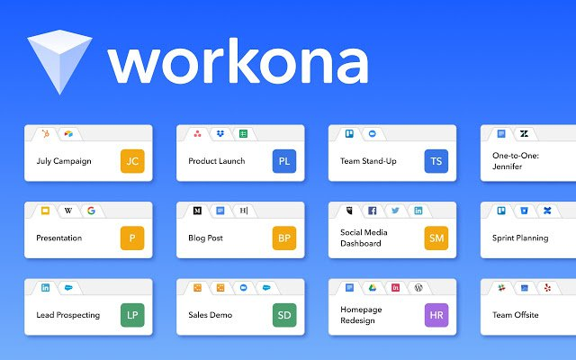 Chrome Extension Workona