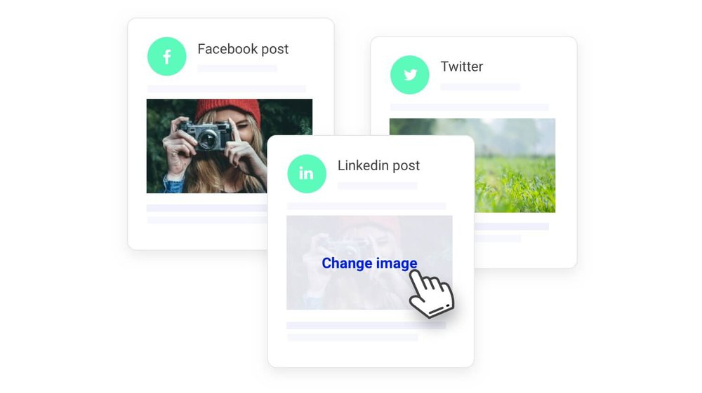 customize your social media posts