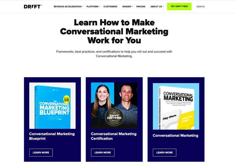 how drift uses storytelling for marketing
