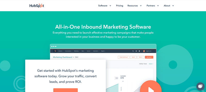 Content Marketing Management Software: HubSpot