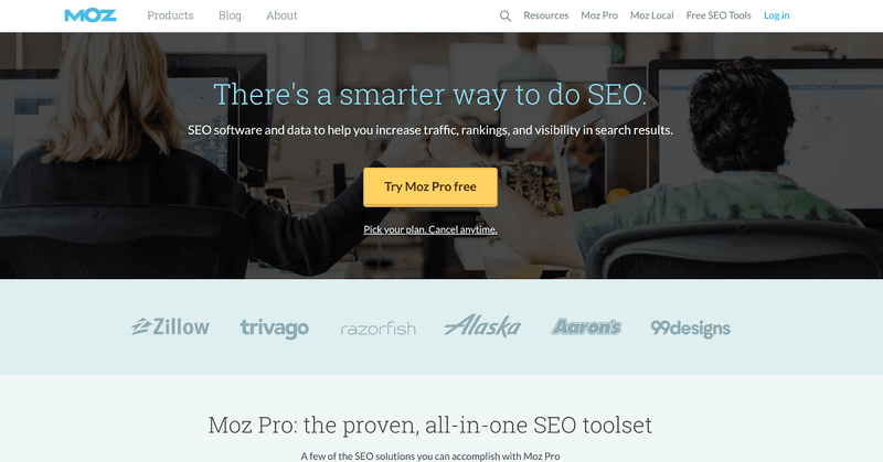 SEO tools for copywriters #8: Moz