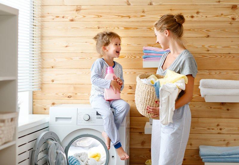 wasmachine vlekken wassen kinderen ouders back to school