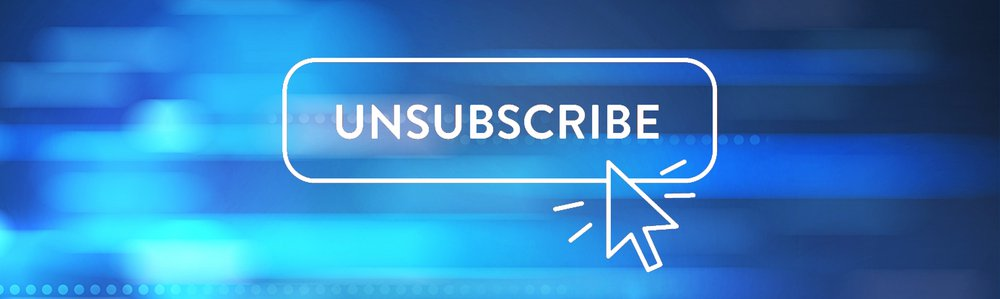 Unsubscribe from newsletters - Konvert