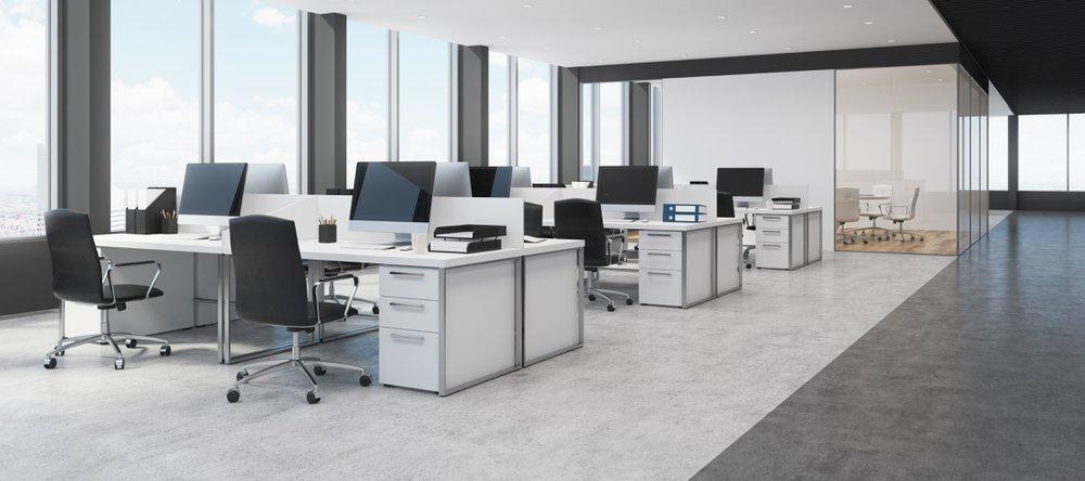 Lege bureaus zien er professioneel uit - Konvert