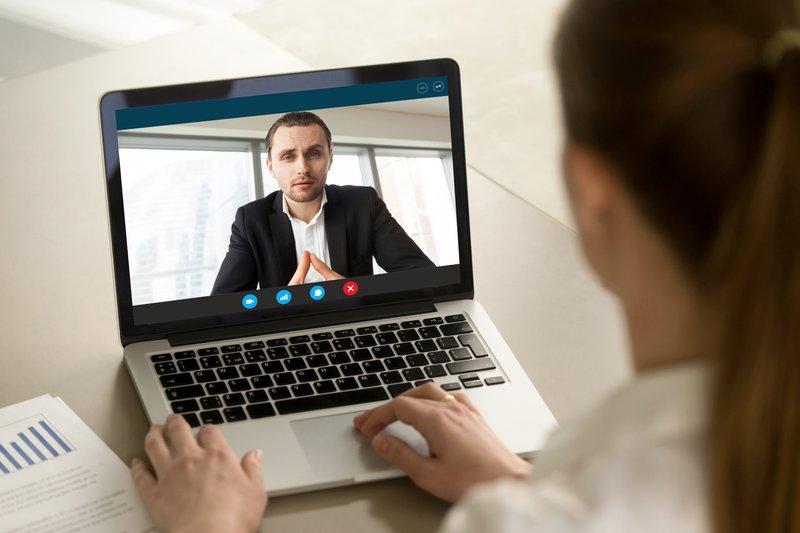 solliciteren via Skype - Konvert