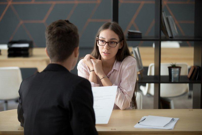 Job interview – Konvert