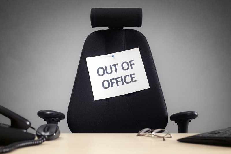 tijdskrediet: out of office | Konvert