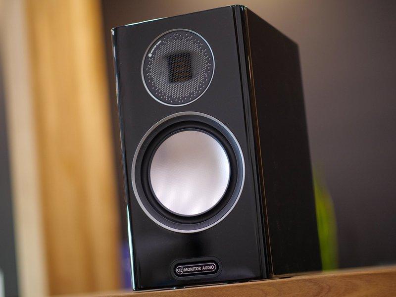 gold 100 bookshelf speakers
