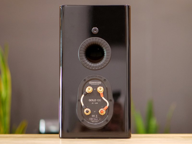 monitor audio gold 100 terminals and bass port