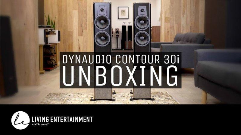 dynaduio contour 30i unboxing