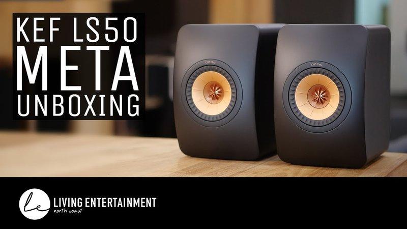 kef ls50 meta unboxing