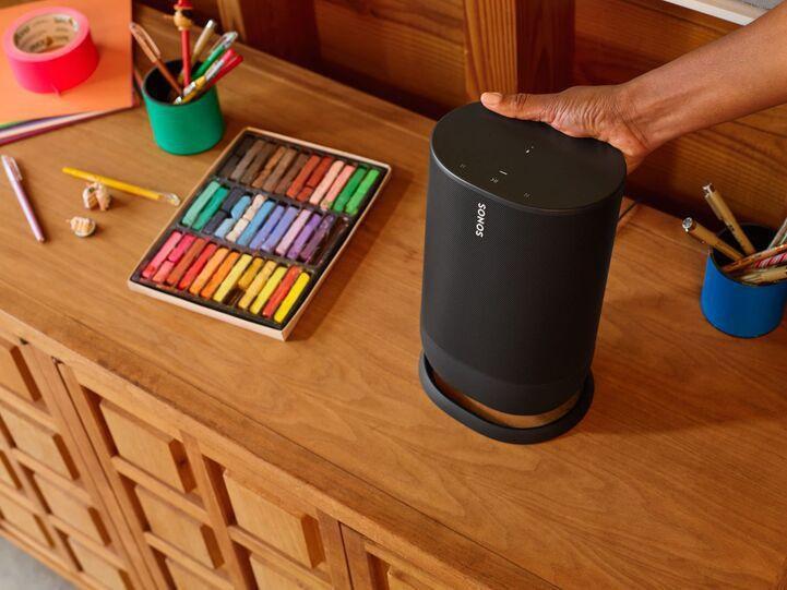 sonos move portable bluetooth speaker