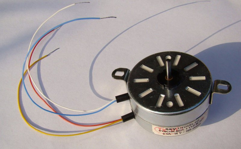 The Turntable Motor
