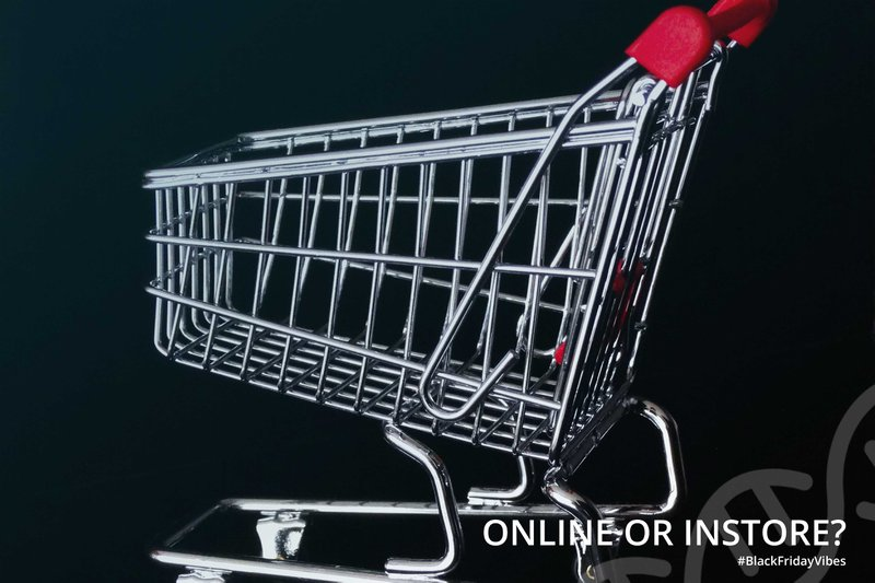 Black Friday _ Shopping cart
