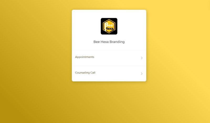 CozyCal on Bee Hexa Branding's website