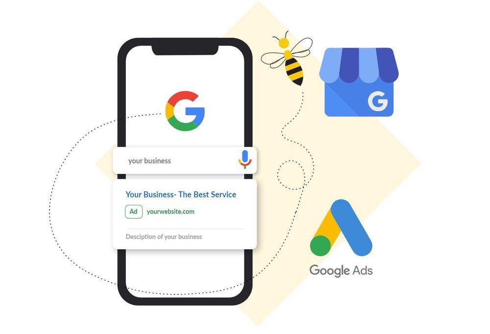 Google Keyword Search SEO Bee Hexa El Paso, Texas