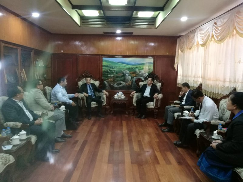Meeting with Minister of Transportation